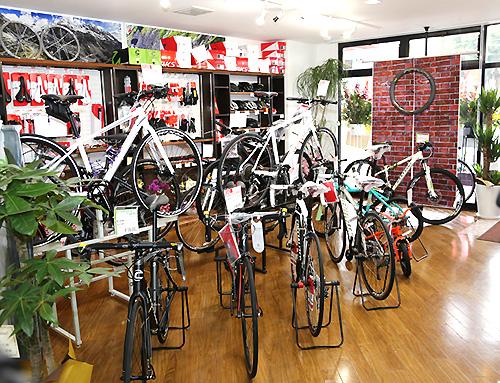 広島県福山市の自転車店ビーライン